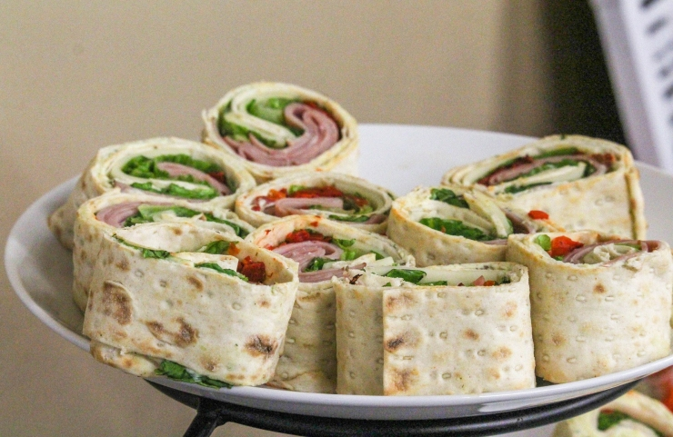 turkey sandwich wrap
